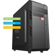 ABCOM KA3005 Ryzen3, 8GB RAM 240 GB SSD