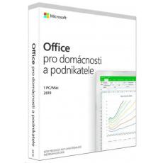 PROMO 5PK Microsoft Office Home and Business 2019 CZ (pro podnikatele) + Sluchátka BEATS