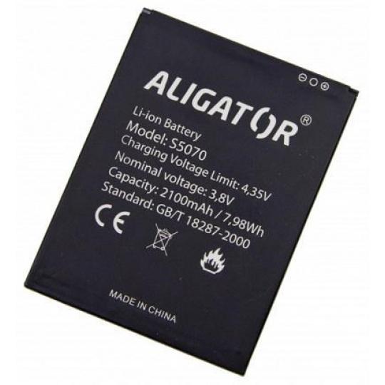 Aligator baterie Li-Ion 2100 mAh pro Aligator S5070 Duo