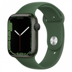 Apple Watch Series 7, 45mm Green/Clover SportBand