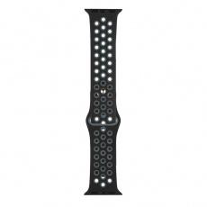 RhinoTech sportovní řemínek pro Apple Watch 42 / 44mm Černo-šedá