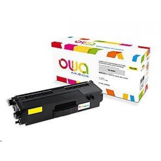 OWA Armor toner pro BROTHER HL-L 9200, 6.000 str., kom. s TN900Y žlutá/yellow