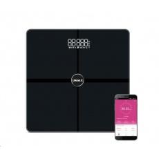 UMAX váha Smart Scale US30HRC chytrá osobní váha - bluetooth, maximální zátěž 180kg