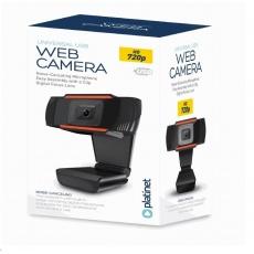 PLATINET web kamera 720P, vestavěný digitální mikrofon, USB