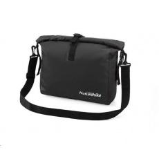 Naturehike vodotěsná taška přes rameno 15l 400g - černá