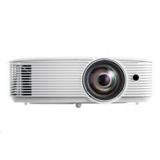 Optoma projektor W309ST  (DLP, FULL 3D, WXGA, 3 800 ANSI, 25 000:1, 16:10, HDMI, VGA, RS232, 10W speaker), posk obal