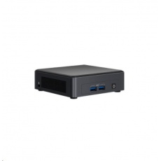 INTEL NUC Kit NUC11TNKv5, i5 Core 1145G7/2x4GB DDR4+500GB M.2 SSD/IrisXe/vPro/Win10/ No EU power cord (Tiger Canyon)