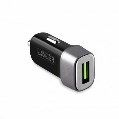 Puro kompaktní mini rychlonabíječka do auta, 1x USB-C port, 30W, černá