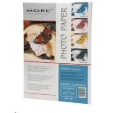 Fotopapier MORE pre ink-jet Inspiration 185g,jednostranný lesklý, A4, 20 listov
