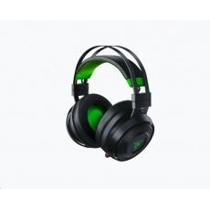 RAZER sluchátka Nari Ultimate pro Xbox One, černé, 2,4 GHz, herní