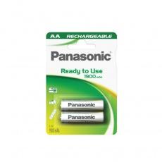 PANASONIC Nabíjecí baterie (Ready to Use - pro Časté použití) HHR-3MVE/2BC   1900mAh AA 1,2V (Blistr 2ks)