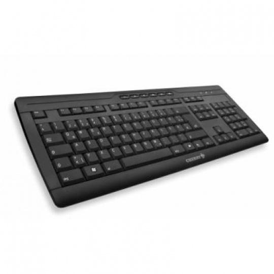CHERRY klávesnice STREAM 3.0/ drátová/ USB/ černá/ CZ+SK layout