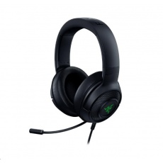 RAZER sluchátka Kraken V3 X, Wired USB Gaming Headset