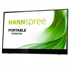 "Hannspree HL161CGB 15,6"" Portable monitor, 1920x1080, 16:9, 2x USB3.1, 1x Mini HDMI"