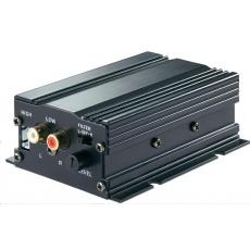 CONRAD Koncový mini zesilovač Basetech AP-2100, 2x 50 W
