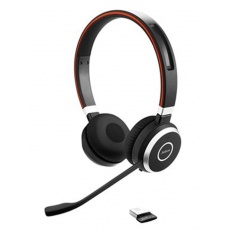 Jabra bezdrátová náhlavní souprava Evolve 65 UC, stereo