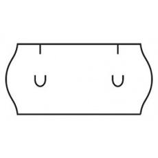 cenovkové etikety 26x12 UNI - biele (pre etiketovacie kliešte) 1.500 ks/rol.