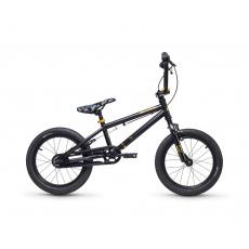 S'COOL  XtriX mini 16 Detský bicykel čierny/zlatý