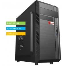 ABCOM KI3002 i3-9100, 8GB RAM 240 GB SSD