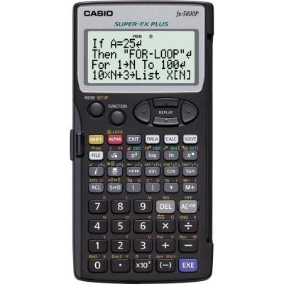 CASIO kalkulačka FX 5800 P, programovatelný kalkulátor