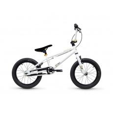 S'COOL XtriX mini 16 Detský bicykel biely/zlatý (od 107 cm)