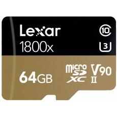 Lexar Pro 1800X microSDXC w/adapt (V90) R270/W150
