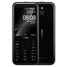 Nokia 8000 4G (2021), Dual SIM, černá