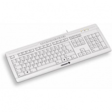 CHERRY klávesnice STREAM 3.0/ drátová/ USB/ bílá/ CZ+SK layout