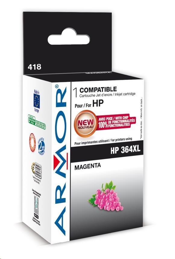 ARMOR cartridge pro HP Photosmart B8550 magenta, 12ml, No.364XL (CB324EE)