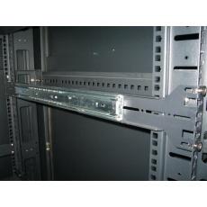 """EUROCASE 19"""" nosné ližiny NSP-RK18 (500-900 mm) pro 4U-500"""