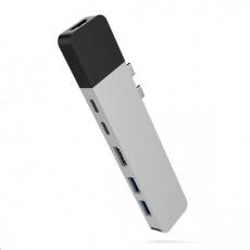 HyperDrive NET Hub for USB-C pro MacBook Pro - Stříbrný