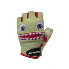 Chiba Cyklistické rukavice pre deti Cool Kids Tvár