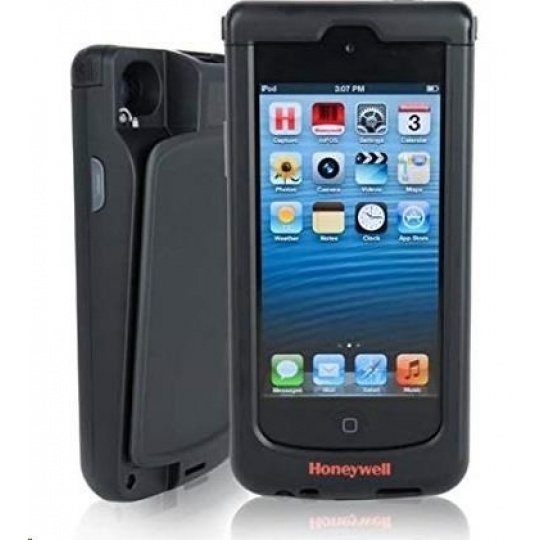 Honeywell Captuvo SL42 for iPhone 6s, 2D, kit (USB), ext. bat., black