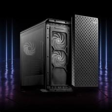 ADATA XPG skříň DEFENDER PRO Mid-Tower Case, bez zdroje, ARGB fan 3x, black