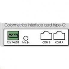 Colormetrics interface card, type-C