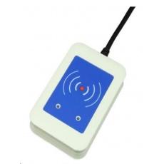 Elatec RFID čtečka TWN4, 125kHz/134.2kHz a 13.56 MHz, USB, bílá