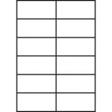 RAYFILM Štítky 105x49,6 univerzálne biele *R01000929A, 100 listů