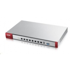 Zyxel ZyWALL USG1900 Security Firewall, 8x gigabit RJ45 (LAN/DMZ/WAN), 2x USB