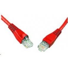 Solarix Patch kabel CAT6 UTP PVC 0,5m červený snag-proof C6-114RD-0,5MB