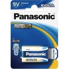 PANASONIC Alkalické baterie EVOLTA Platinum 6LR61EGE/1BP 9V (1ks)
