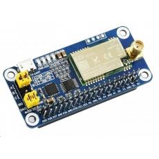 Waveshare SX1262 LoRa HAT pro Raspberry Pi, 868 MHz, pro Evropu, Asii, Afriku