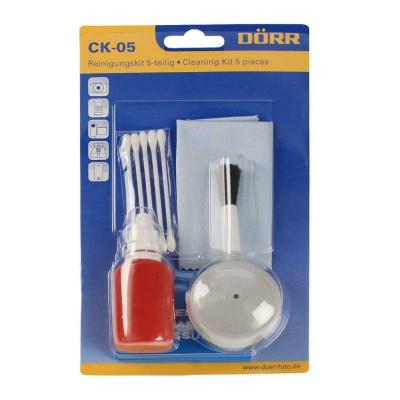 Doerr Čistící souprava CK-05 (ofuk.štětec, čist.kapalina, hadřík, papírky, tyčinky)