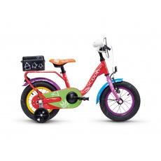 S'COOL  niXe chalk 12 Detský bicykel farebný (od 99 cm)
