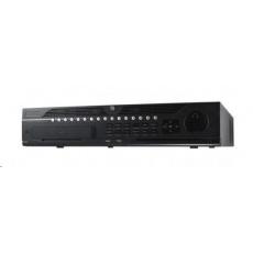 HIKVISION NVR, 64 kanálů, 8x HDD (až 64TB), 4K UHD, 3x USB, 2xHDMI a 2xVGA výstup, 16x DI / 4x DO, audio in/out