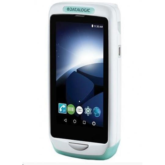 Datalogic Joya Touch A6, HC, 2D, USB, BT, Wi-Fi, NFC, bílá, zelená, Android