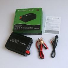 EUROCASE měnič napětí DC/AC 12V/230V, 300W, USB