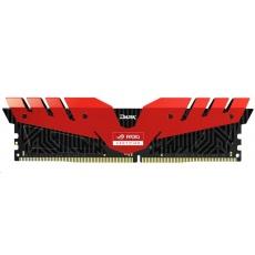 DIMM DDR4 16GB 3000MHz, CL16, (KIT 2x8GB), T-FORCE Dark ROG, Red