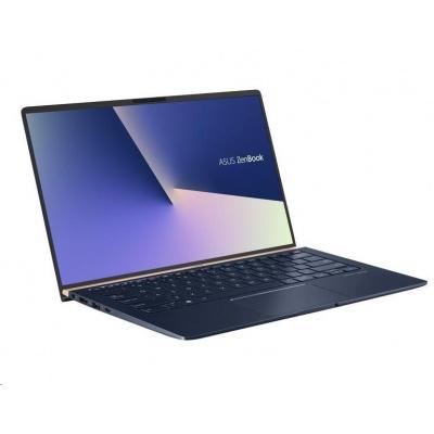 "ASUS Zenbook UX433FN-N5230R i5-8265U 8GB 256GB SSD 14""FHD Nvidia Mx150 2GB Win 10 Pro modrý"