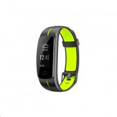 Celly fitness náramek, IP67, černo-zelená