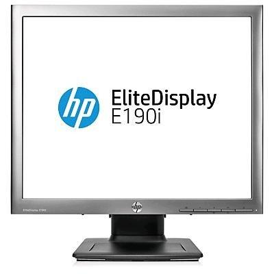 """HP E190i 18.9"""" LED backlit IPS LCD(1280x1024, 5:4, 250 nits,1000:1, 178°/178°,14ms, VGA, DVI-D, DisplayPort, 2xUSB)"""